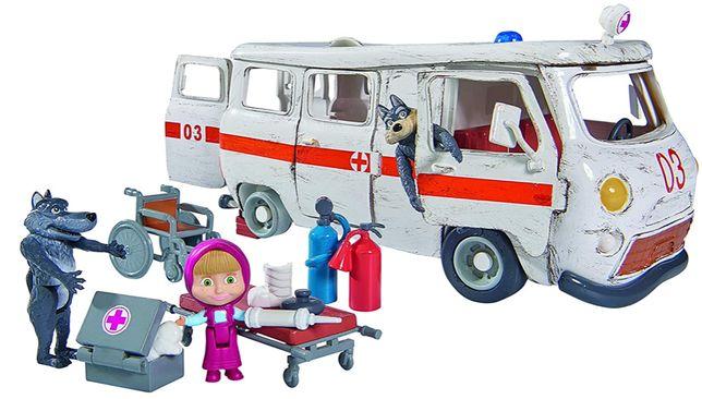 Masha e o Urso Ambulancia (novo e selado) canal panda