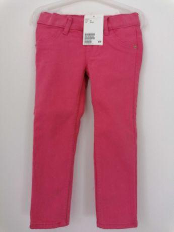 Spodnie hm Zara rozm 92, 98