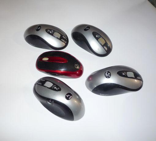 мышки компьютерные - беспроводные (без ковриков).