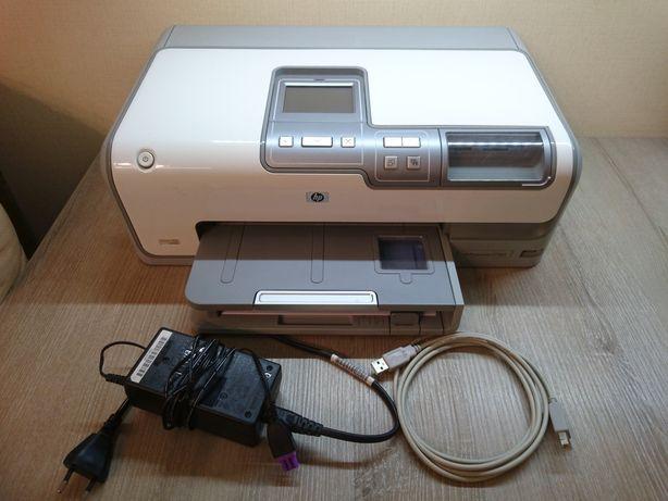 Фотопринтер HP Photosmart D7363 (6-ти цветный принтер сенсорный экран)
