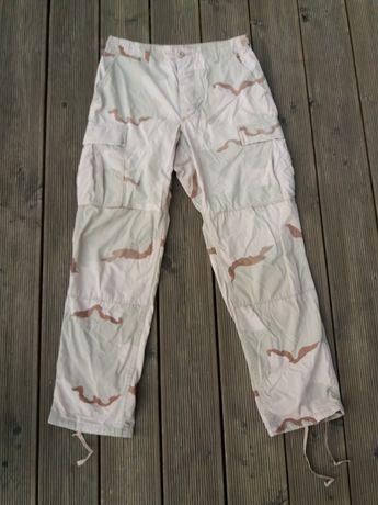 Spodnie BDU tricolor pustynne US Army kontrakt rozm. small-regular (M)