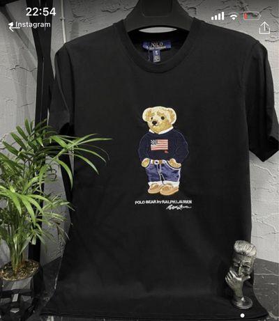 Футболки|мужские футболки|polo ralph bear|купить футболки|футболки