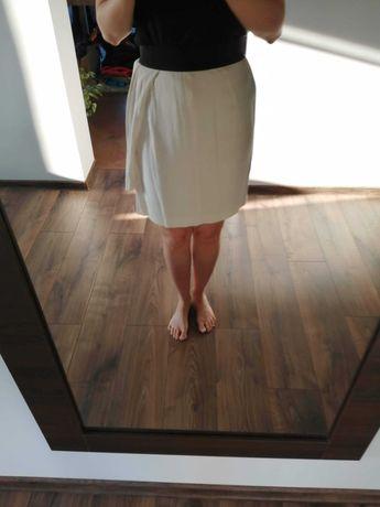 Spódnica Zara kremowa