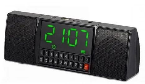WS-1515 BT Часы USB, Радио, Bluetooth, и цифровым FM приемником