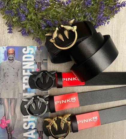 Ремень кожаный женский Louis Vuitton Pinko Gucci Karl