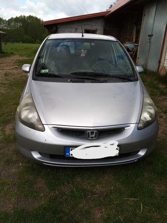 Honda Jazz kolor srebrny
