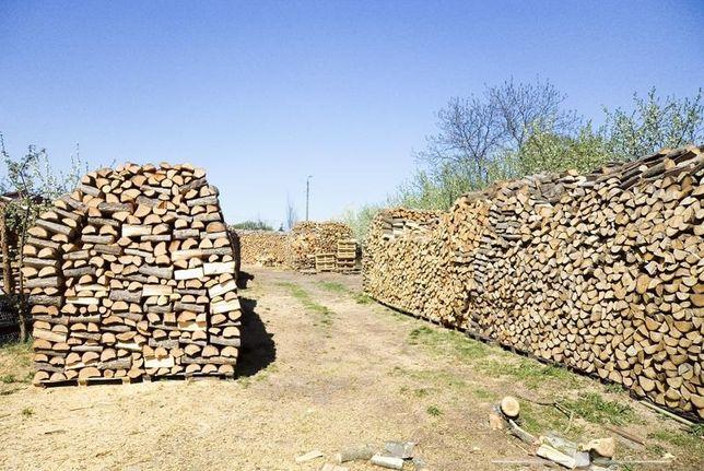 Drewno kominkowe - Suche - Cięte i łupane