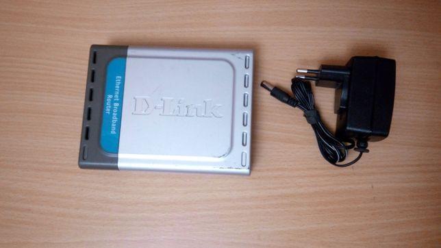 Маршрутизатор, комутатор D-link для интернет сети.
