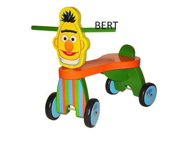 rowerek 4-kołowy ERNIE lub BERT - z Twoim ulubionym Muppetem