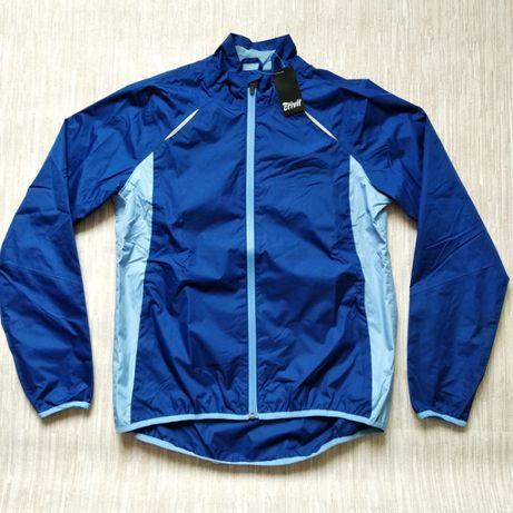 Велодождевик Crivit на подкладке велокуртка куртка ветровка дождевик