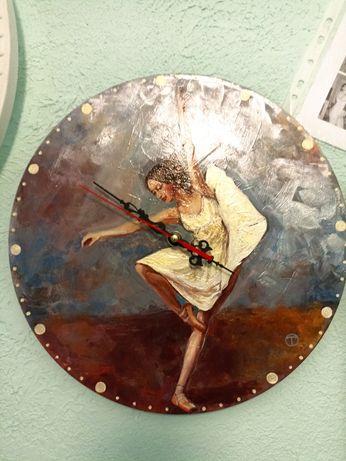 Продам часы настенные Handmade