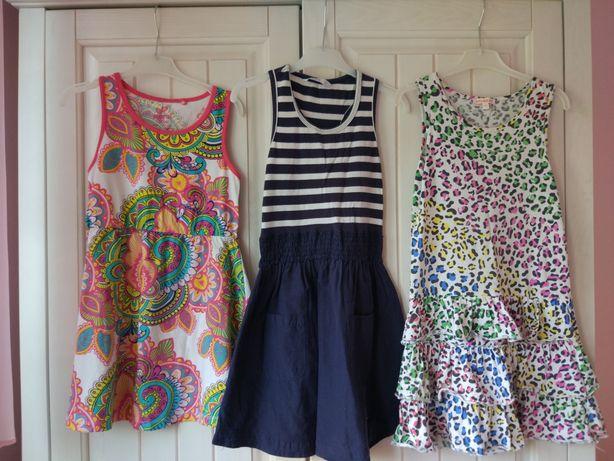 Sukienka 134 dla dziewczynki