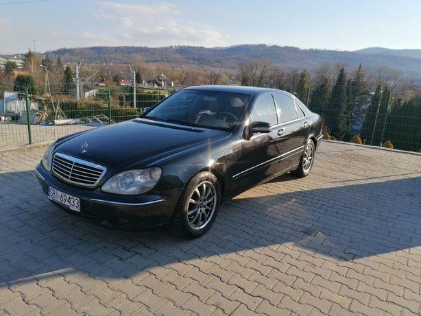 Mercedes-Benz w220 3.2 benzyna +lpg