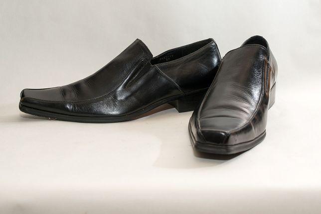 Туфли мужские итальянские San Meldini 39р длина стельки 25см