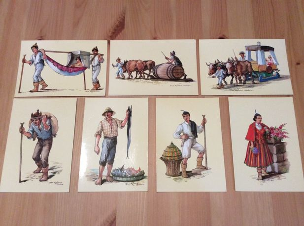 Coleções de postais
