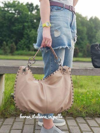 Женская кожаная сумка, Италия BORSE ITALIANE IN PELLE