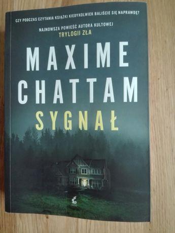 Książka Maxime Chattam Sygnał