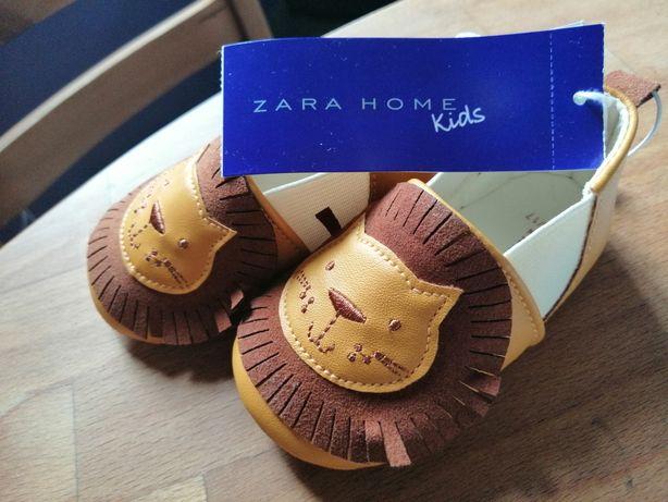 Nowe niechodki buciki Zara Kids 16/17 lewki