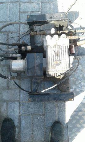 Pompa wody i silnik olejowy do zamiatarki