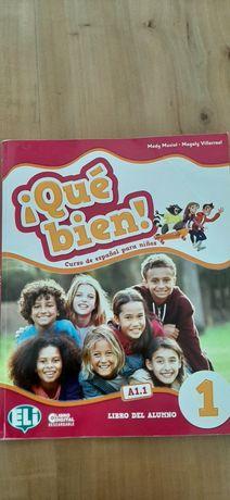 ¡QUÉ BIEN! 1 książka do hiszpańskiego