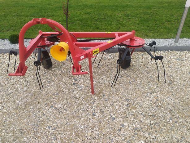 pająk przetrząsacz karuzelowy 2x5 lub 2x6 ramion