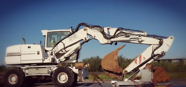 Usługi - Roboty - Prace ziemne, wykopy, wyburzenia, niwelacja terenu