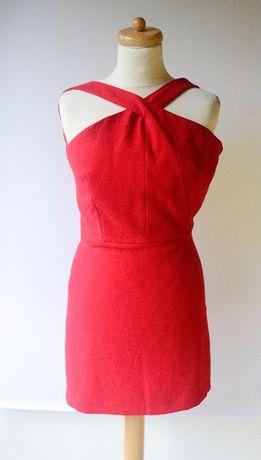 Sukienka Czerwona S 36 Mango Suit Sexy Elegancka Zara H&M Reserved C&A