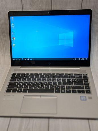Ноутбук HP Elitebook 840 G5 I7 16GB SSD 256 подсветка сенсор б/у