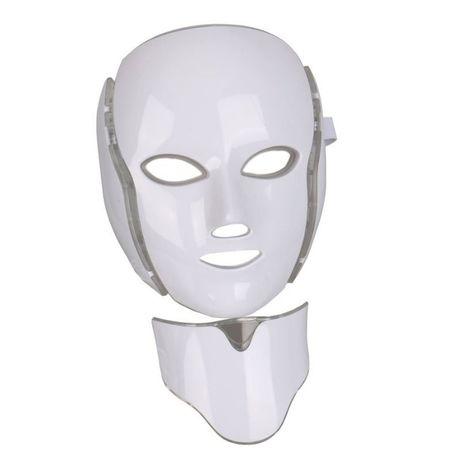 Mascara De Leds Fototerapia 7 cores Com Pescoço Novidade Crazy Prices