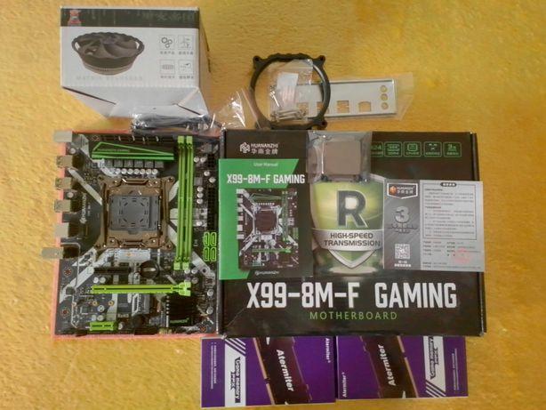 HuananZhi X99 2011 V3 8MF/16GB ddr4/Xeon E5 2630L V3 2.8Ghz 16 потоків
