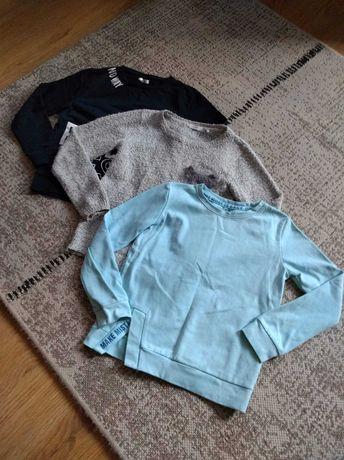 3 bluzy/swetry rozm. 134/140 Reserved Cool Club Pepco