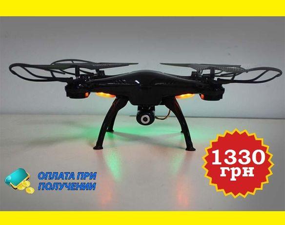 Мощный квадрокоптер дрон с HD WiFi камерой на 8мп 350 метров/ 20минут