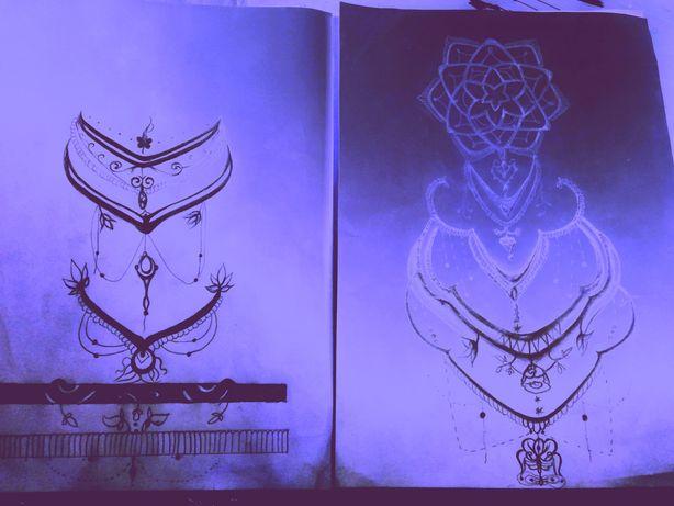 Projekt tatuażu/ mandala