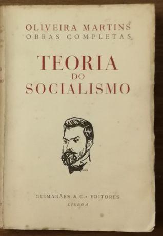 teoria do socialismo, obras completas oliveira martins, guimarães