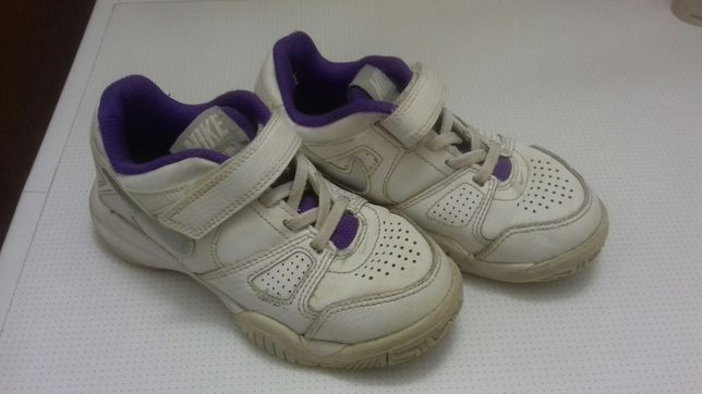 Кожанные кроссовки Nike 18 cм