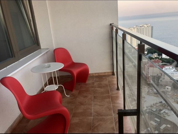 Однокомнатная вид моря  балкон 32 Жемчужина Аркадия Кадорр