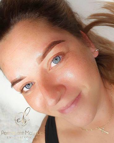Makijaż permanentny  350zł .Brwi ,ust , Ombre Brows
