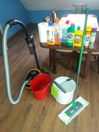 Sprzątanie mieszkań, domów, mycie okien.