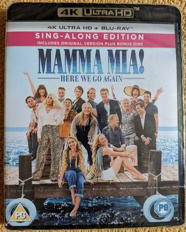 Mamma Mia! Here We Go Again [4K UHD Blu-Ray] Lektor i napisy PL [nowy]