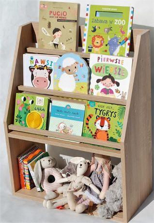 Regał Pólka Biblioteczka na książki Dziecko Nowa ! Dąb Sonoma