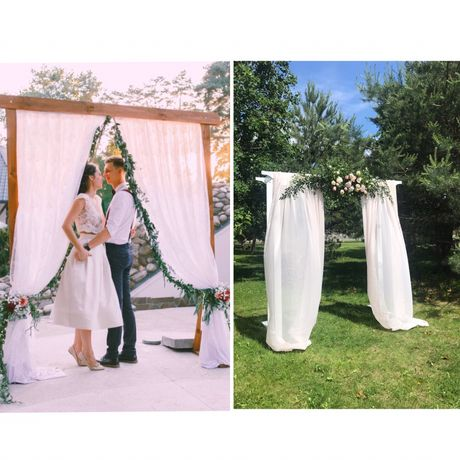 Свадебная арка, арка для церемонии, фотозона