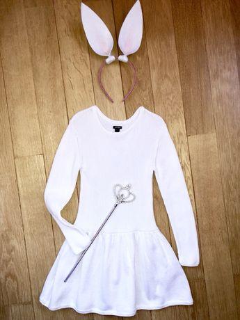 Нарядное платье в модный рубчик Kiabi
