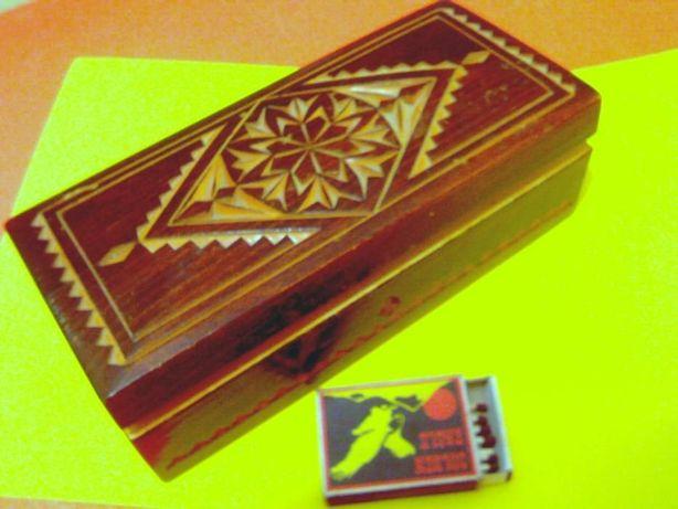 Шкатулка деревянная,резная,советская,СССР,для украшений,подарок женщин