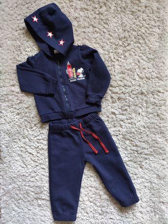 Тёплый костюм на флисе, для мальчика Original Marines, 6-9 мес.