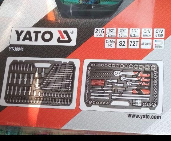 Набор інструментів для ключів Yato 216 original YT-38841 [Зимня Акція]