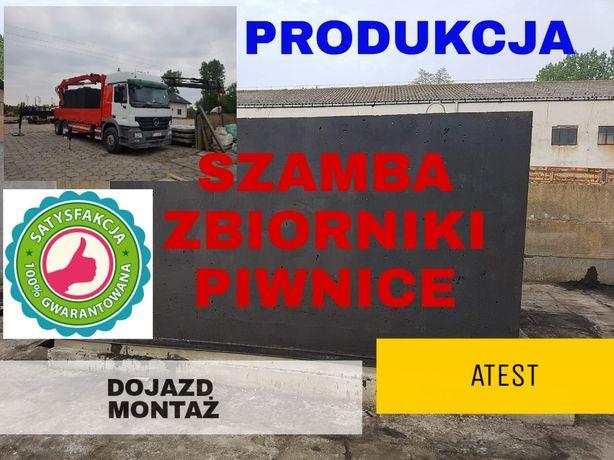 Szamba betonowe od producenta montaż 4-12m3 SZYBKO szamba zbii