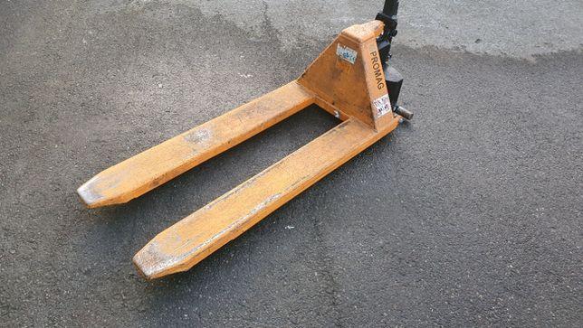 Paleciak wózek paletowy nożycowy wysoki 1500kg 80cm