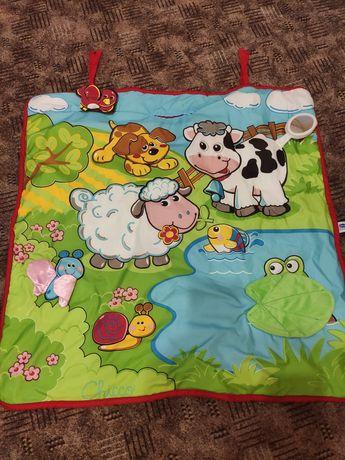 Развивающий коврик для малышей chicco