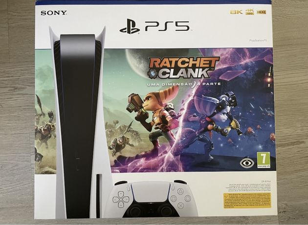 Playstation 5 PS5 standard com jogo selada com garantia