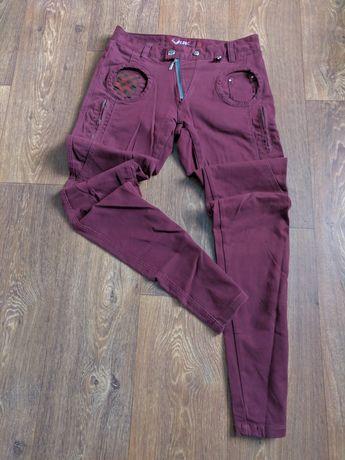 Штаны джинсы зауженные Look Zara